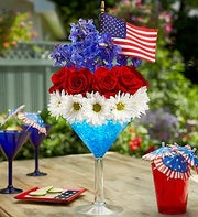 Cheers to the Red, White and Blue?