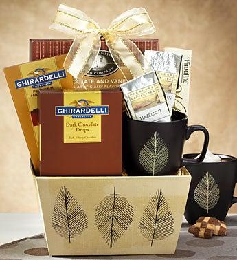 Warm Up Coffee Break Gift Basket