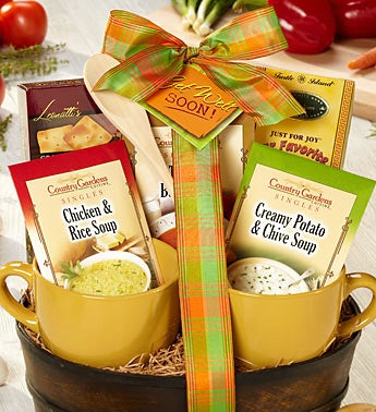 Get Well Soon Soup Fan's Favorite Gift Basket