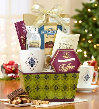 Winter Warm Up Mug & Sweets Gift Basket