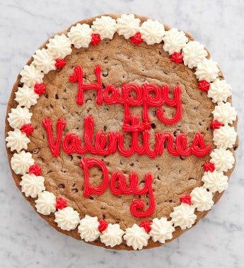 Cheryl's Valentines Day Choc Chip Party Cookie