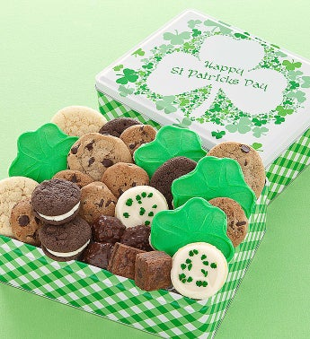 Cheryl's St Patricks Day Gift Tin Treats