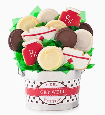 Cheryl's Get Well Cookie Flower Pot