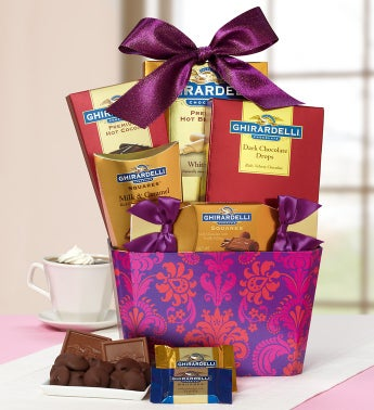 Lovin' Ghirardelli�  Chocolate Basket