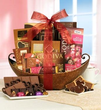 Godiva� Grande Valentine Basket