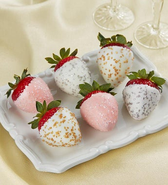 Fannie May Champagne Celebration Strawberries