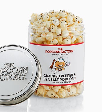 Popcorn Factory Cracked Pepper Sea Salt Sampler