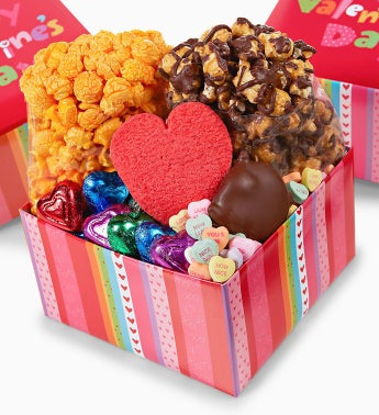 The Popcorn Factory� Mini Sampler Boxes Set of 2