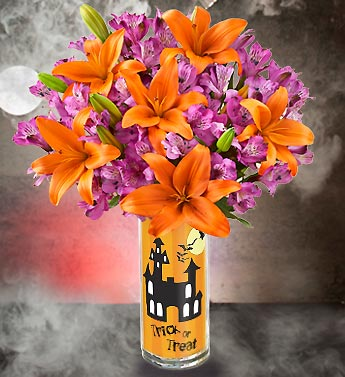 Spooky Castle Bouquet