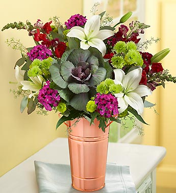 Grape Harvest Bouquet + Free Premium Vase