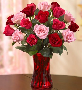Enchanted Rose Medley, 18 Stems