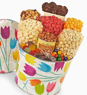 The Popcorn Factory� Tulips Snack Asst