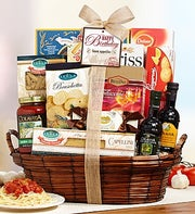 Bon Appetite Happy Birthday Italian Basket