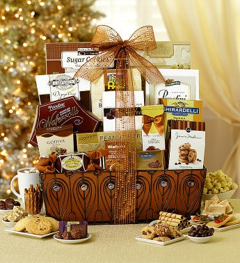 Sweet Sophistication Deluxe Gift Basket