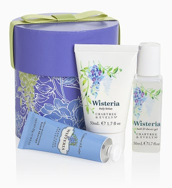 Crabtree & Evelyn � Wisteria Mini Hat Box