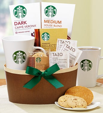 Starbucks� Fan Favorite Coffee Basket