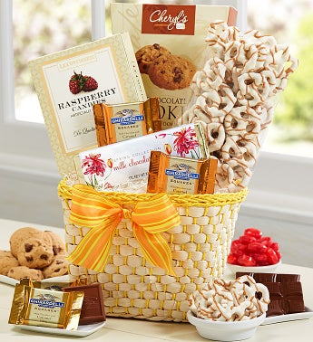Sunny Sweets Gift Basket