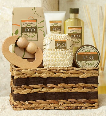 Invigorating Vanilla & Ginger Spa Basket