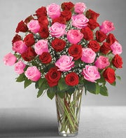 Ultimate Elegance� Long Stem Pink & Red Roses