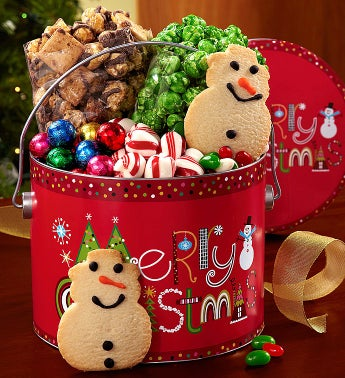 The Popcorn Factory� Merry Christmas Fun Pail