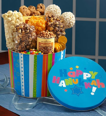 The Popcorn Factory� Happy Hanukkah Snack Asst.