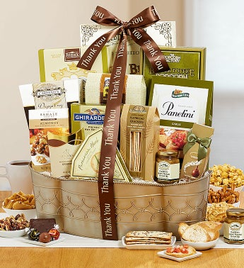 Thank You Noble Grandeur Gift Basket