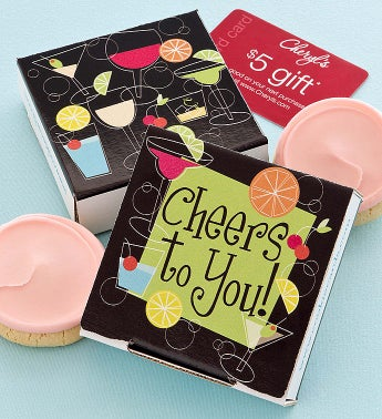 Cheryl's Cheers to You Cookie Card