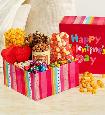 Popcorn Happy Valentines Sampler Box