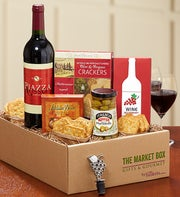 Essence of Italy Wine & Gourmet Market Box