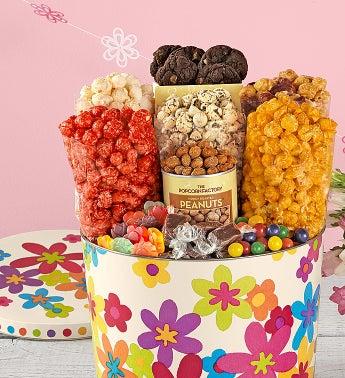 Popcorn Spring Floral Snack Asst.