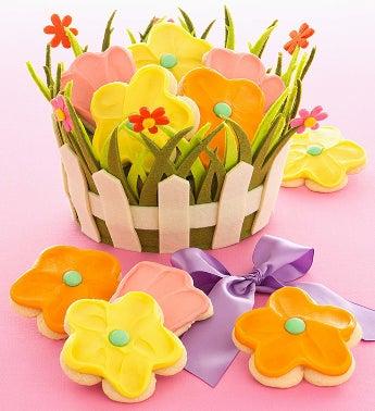 Cheryl's Spring Felt Basket