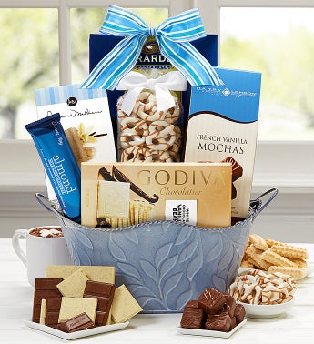 I Love You Mom Chocolate Basket