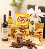 Gift Box of Wine Biltong Chocolates and More