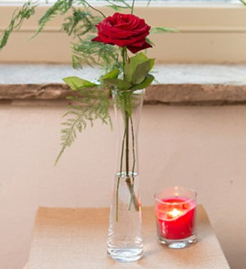 Long Stem Rose Vase