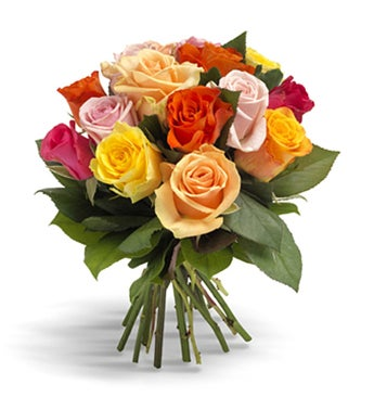 Happiness Mixed Roses