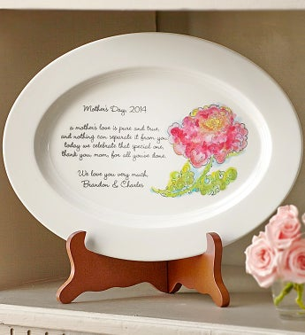 Personalized Mother's Day Decorative Platter