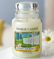 Clean Cotton Yankee Candle�