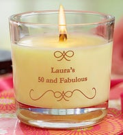 Personalized Woodwick� Candle