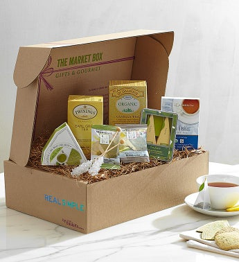 Tea for You Market Box by Real Simple�
