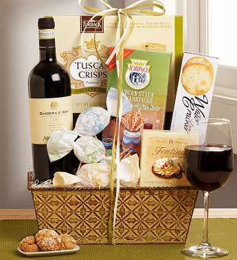 Bella Campagna Italina Wine Basket