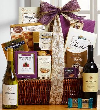 Tasteful Expressions Gourmet Wine Gift Basket