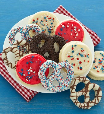 Cheryl's Americana Pretzels and Cookies 10ct