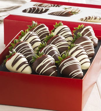 Fannie May� Decadent Chocolate Strawberries 12 ct
