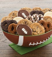 Cheryl's Football Party Bowl - Cookies and Petzels