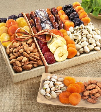 Harvest Dried Fruit & Nut Crate - gluten free