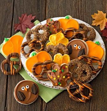 Cheryl's Autumn Cookie and Pretzel Gift