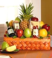 Abundant Fruit & Gourmet  Gift Basket