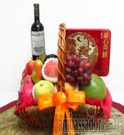 Mooncakes of Autumn Fruit Basket