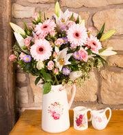 Farmhouse Pinks Bouquet