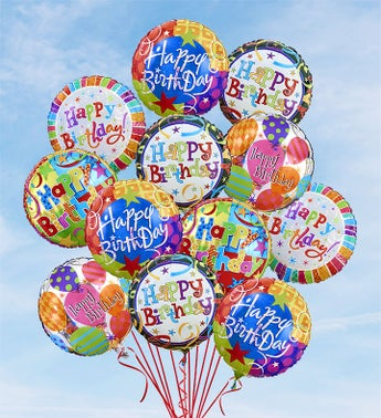 Air-Rangement� - Birthday Mylar Balloons